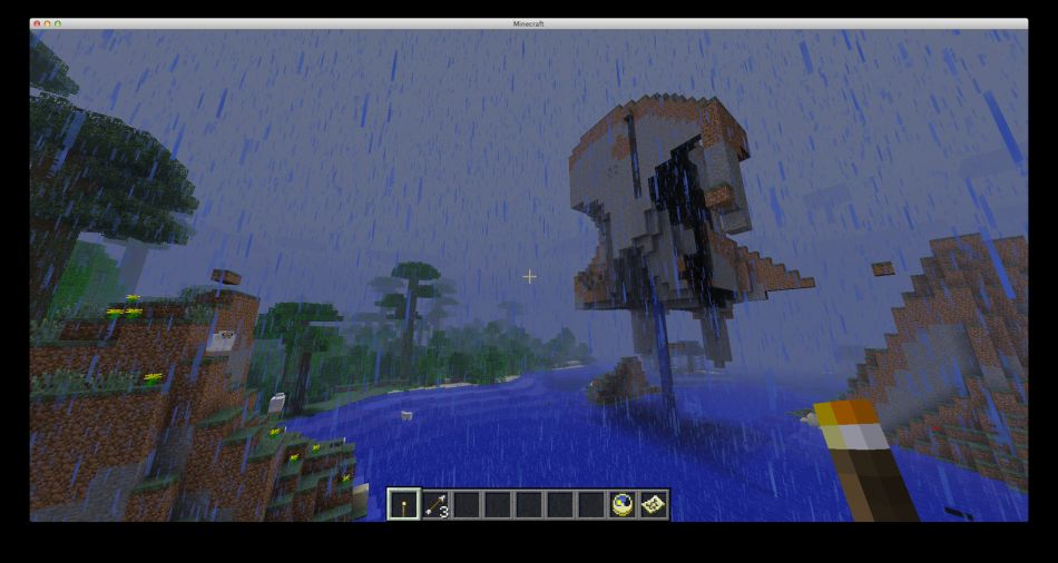 Minecraft Seed Mayan Jungle And Floating Paradise 3