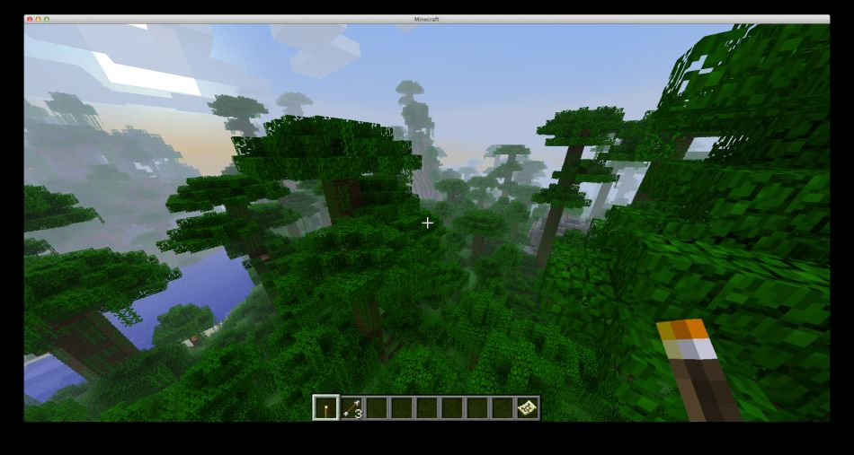 Minecraft Seed Mayan Jungle And Floating Paradise 4