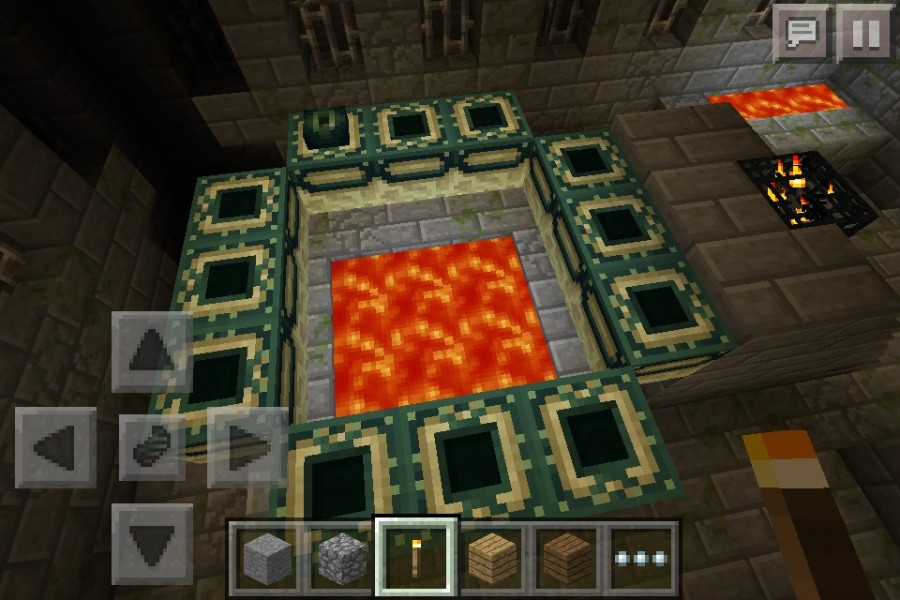 Village And End Portal - Minecraft Seeds