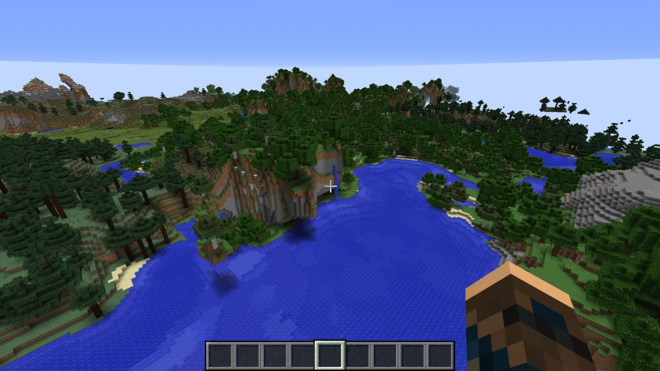 Minecraft Seed Nature Beauty 2