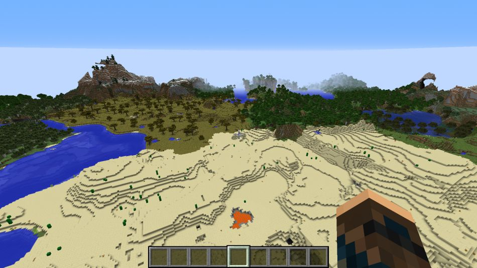 Minecraft Seed Nature Beauty 3