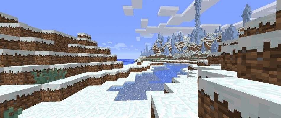 Ice Spikes At Spawn