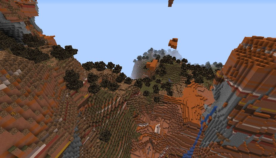 Minecraft Seed 4 In 1 Biomes 4