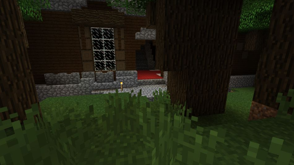 Minecraft Seed Behind The Mansion 3