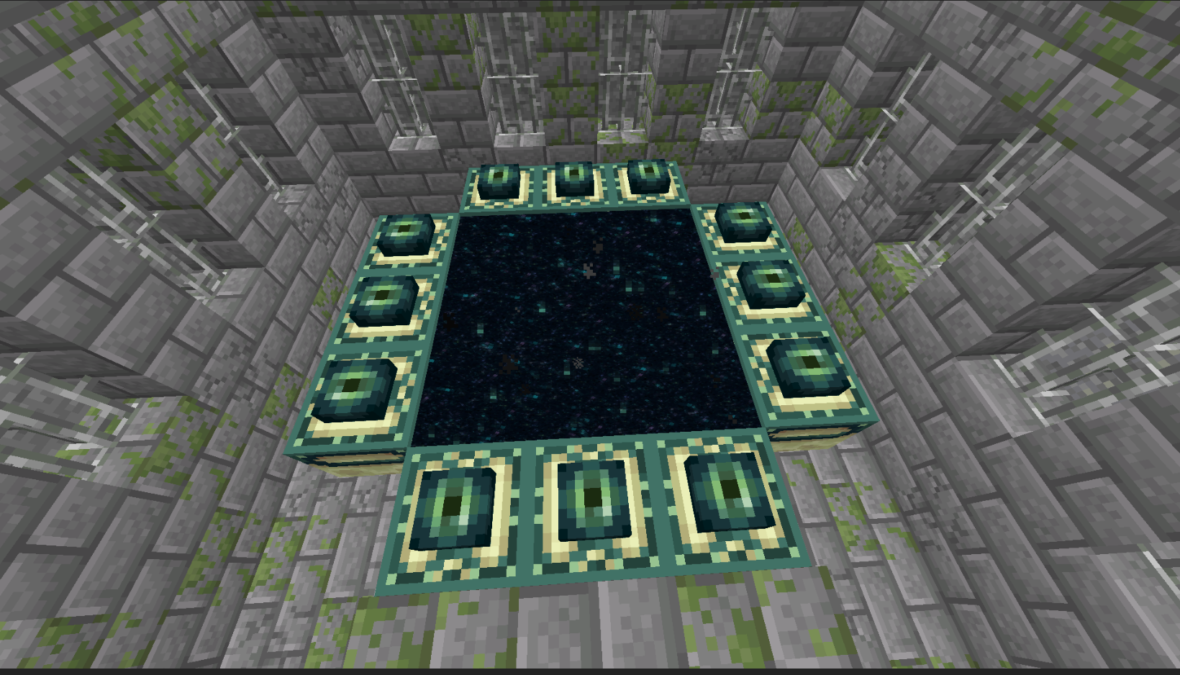 12 Eye and nether portal ready spawn